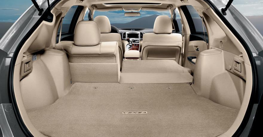 Тойота Venza багажник — описание модели
