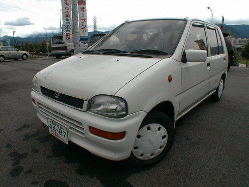 Subaru Rex 1989 - 1992