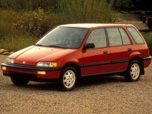 Honda Civic 1988, универсал, 4 поколение