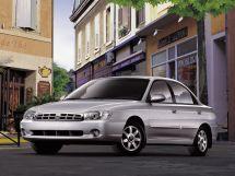 Kia Sephia рестайлинг 2001, седан, 2 поколение