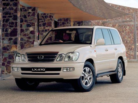 Lexus LX470 (J100) 08.2002 - 03.2005