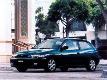Mazda 323 рестайлинг 1996, хэтчбек 3 дв., 7 поколение, BA