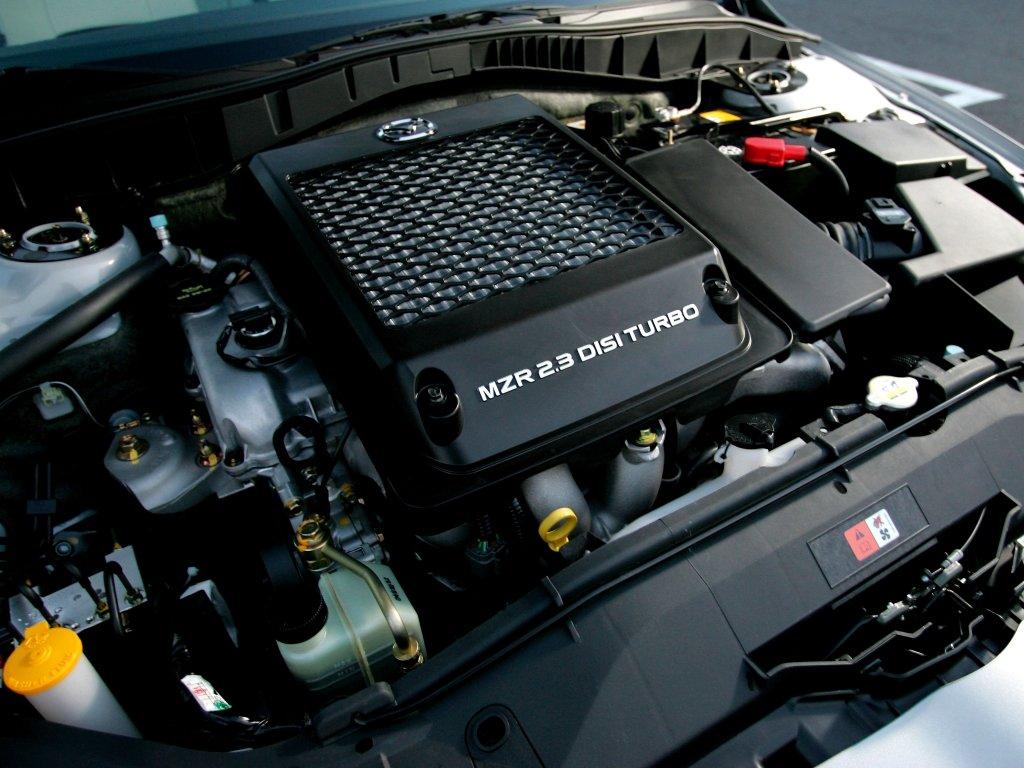 двигатель на mazda 6 mps