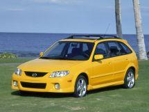 Mazda Protege рестайлинг 2000, универсал, 3 поколение, BJ