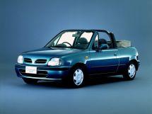Nissan March 2-й рестайлинг 1997, открытый кузов, 2 поколение, K11