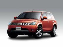 Nissan Murano 2004, джип/suv 5 дв., 1 поколение, Z50