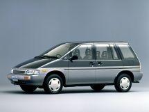 Nissan Prairie 1988, минивэн, 2 поколение, M11