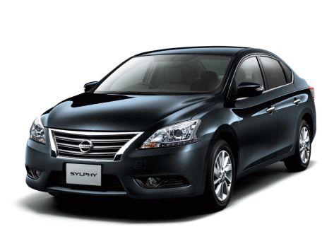 Nissan Sylphy (B17) 12.2012 - 09.2020
