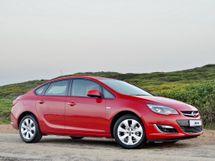 Opel Astra рестайлинг 2012, седан, 4 поколение, J