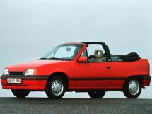 Opel Kadett рестайлинг 1989, открытый кузов, 6 поколение, E