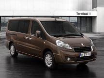 Peugeot Expert рестайлинг 2012, минивэн, 2 поколение, G9