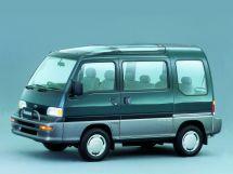 Subaru Domingo 1994, минивэн, 2 поколение, FA