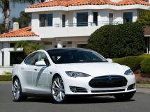 Tesla Model S 2012, лифтбек, 1 поколение