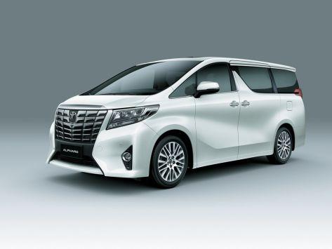 Toyota Alphard (H30) 01.2015 - 01.2018