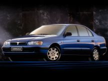 Toyota Carina E рестайлинг 1996, седан, 6 поколение, T190
