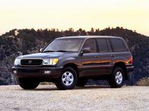 Toyota Land Cruiser 10 поколение, 01.1998 - 08.2002, Джип/SUV 5 дв.
