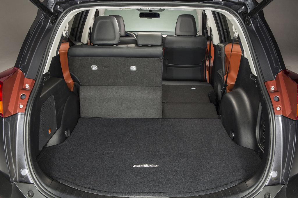 Тойота RAV4 багажник — описание модели