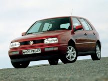 Volkswagen Golf 1991, hatchback, 3rd generation, Mk3
