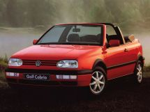 Volkswagen Golf 1991, open body, 3rd generation, Mk3
