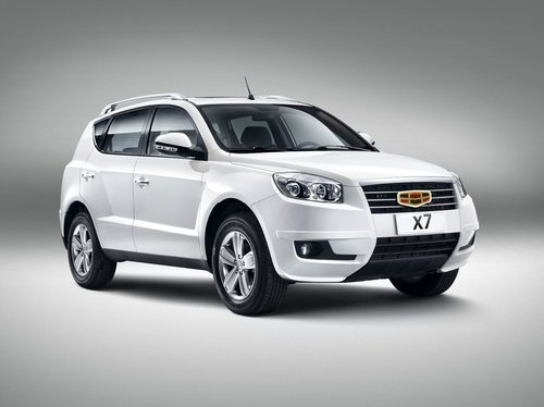 Geely Emgrand X7 2013 - 2016