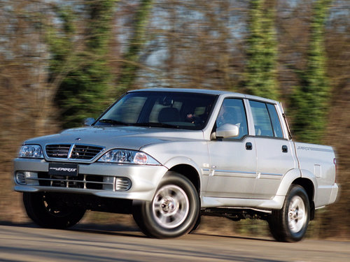 SsangYong Musso Sports 2002 - 2006