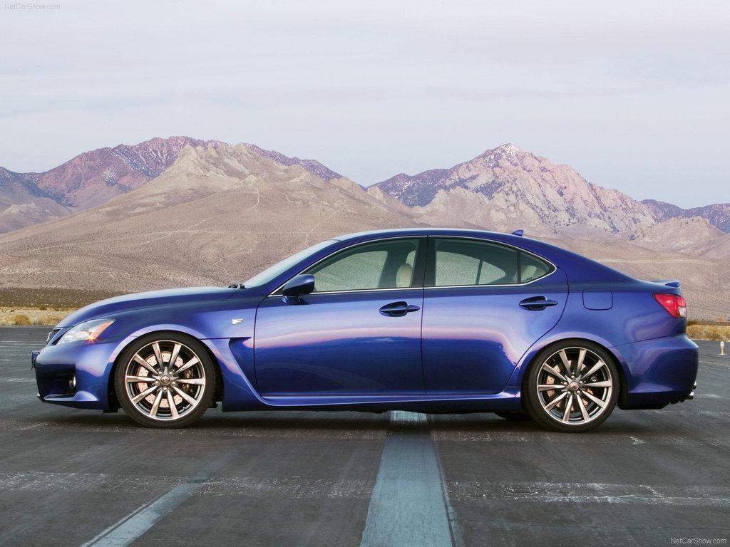Lexus IS F 2007, 2008, 2009, 2010, 2011, седан, 2 поколение, XE20 ...