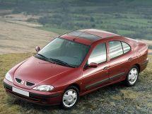 Renault Megane рестайлинг, 1 поколение, 03.1999 - 09.2003, Седан
