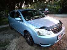 Анапа Corolla Runx 2003