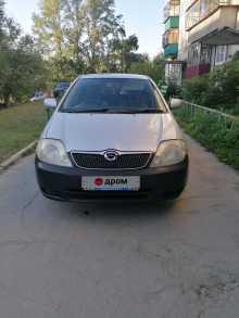Кыштым Corolla Runx 2001