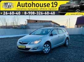 Абакан Opel Astra 2011
