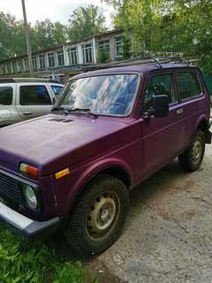 Новосибирск 4x4 2121 Нива 2002
