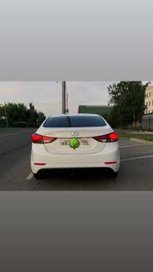 Москва Elantra 2014