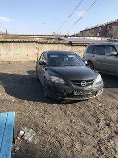 Кызыл Mazda3 MPS 2008