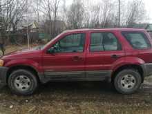 Первоуральск Escape 2001