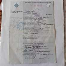 Курьи Carina 1989