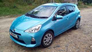 Находка Toyota Aqua 2014