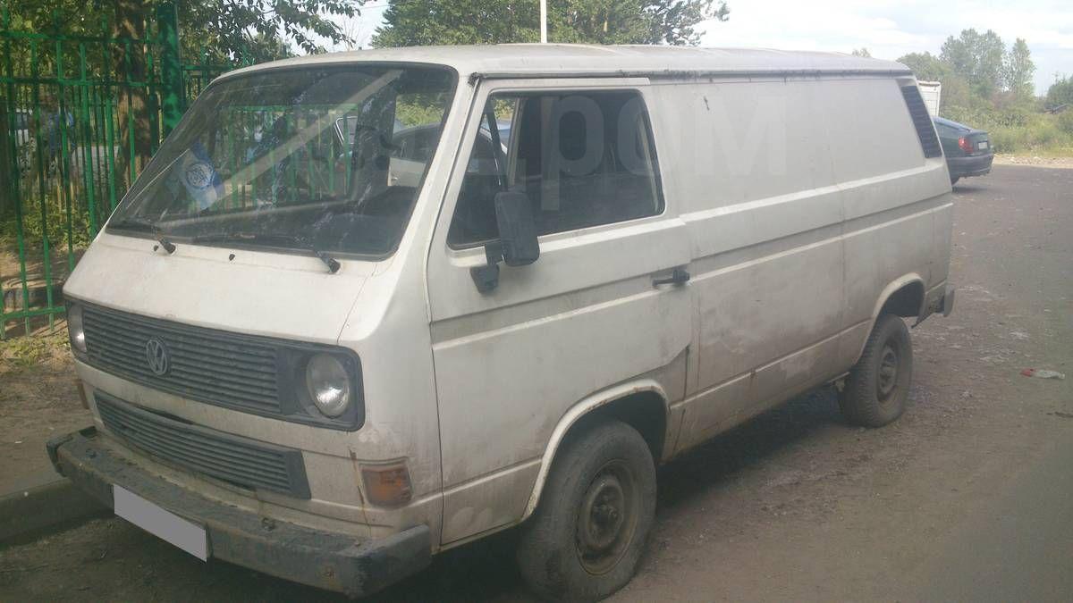 Фольксваген транспортер т2 купить спб фургон грузовой фольксваген транспортер