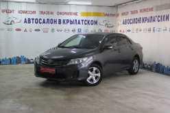 Москва Corolla 2011