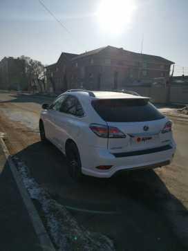 Уссурийск Lexus RX450h 2012