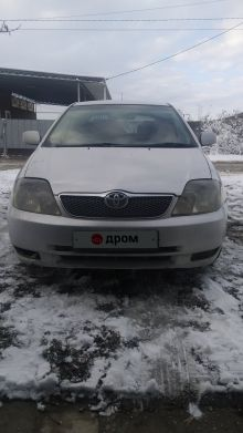 Васюринская Corolla Runx 2001