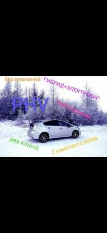 Кызыл Prius PHV 2012