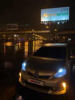Владивосток Prius Alpha 2011