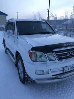 Тазовский LX470 2005