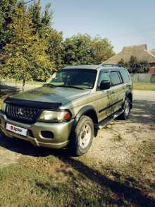 Краснодар Montero Sport 2002