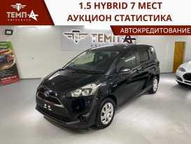 Владивосток Toyota Sienta 2016