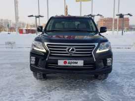 Новосибирск Lexus LX570 2012