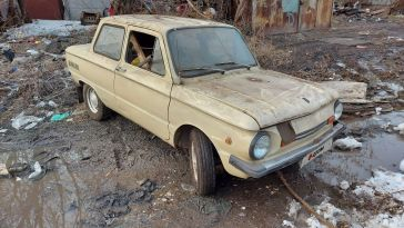 Новосибирск ЗАЗ 1988