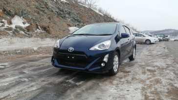 Владивосток Toyota Aqua 2017