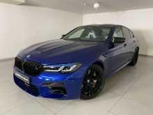 Москва BMW M5 2021