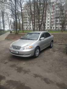 Москва Corolla 2003